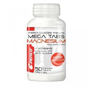Hořčíkové tablety MEGA TABS MAGNESIUM 50 cucavých tablet