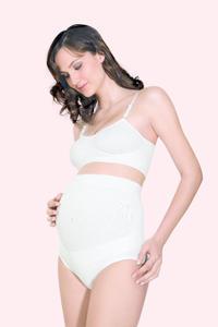 Bezešvé těhotenské kalhotky s vysokou elasticitou RLX 5100