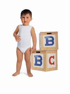 Dětské elastické body bez rukávů s mléčným vláknem FC 5921