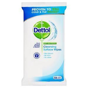 Dettol antibakteriální ubrousky na povrchy