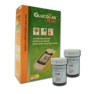 Glukometr GLUCOLAB + 50 PROUŽKŮ ZDARMA