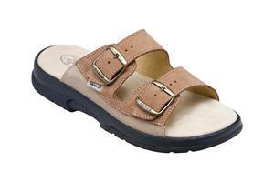 Santé pantofle pánské N /517 /36 Hnědá