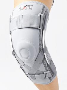 Ortéza kolene s listovými dlahami a oporou ACL