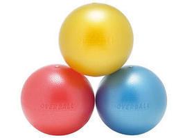 Gymnastické míče a cvičební gumy