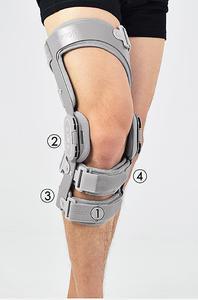 Ortéza kolenní čtyřbodová RAPTOR 2RA REH4MAT