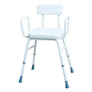 Nastavitelná stolička bílá DMA 549 B