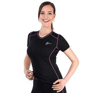 Funkční dámské triko Medima s krátkým rukávem a prošíváním 1117