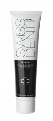 Swissdent Crystal regenerační zubní krém bez fluoridu, 100 ml