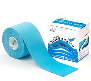 Kinesio Tape Nasara 5 cm x 5 m modrá
