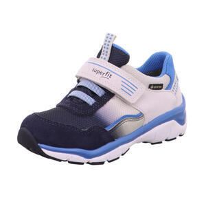 Sportovní boty s membránou modro bílé Superfit 1- 009241-8010