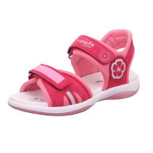 Dívčí letní sandálky Superfit 1- 606127-5010 červené