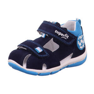 dětské letní sandálky superfit 1- 609142-8010 blau