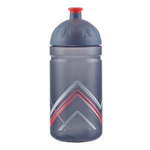 Zdravá lahev 0,5l bike hory červená