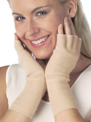 Medima zahřívač rukou bez prstů s angorskou vlnou