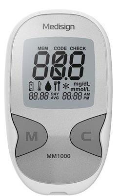 Medisign MM1000 glukometr+10proužků