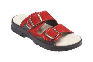 Santé pantofle N/517/33 Červená - 1