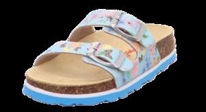 Superfit dívčí ortopedické pantofle modré - 1