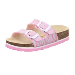 Superfit dívčí ortopedické pantofle růžové - 1