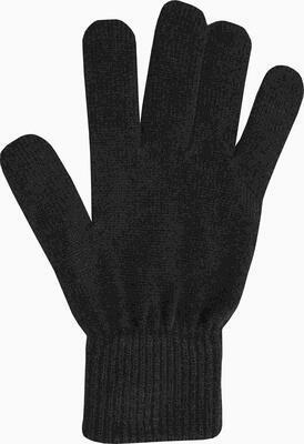 Medima rukavice s angorskou vlnou černé