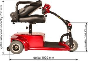 SELVO Elektrický invalidní vozík SELVO 3200 - 2