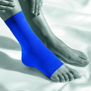 BOR 1450 L Modrá Bandáž kotníku  ACTIVE COLOR, L | Modrá - 2