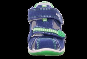 Superfit 6-00140-80 sandálky modré/zelené - 2