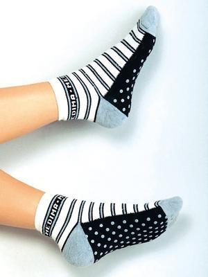 Medima ponožky s angorskou vlnou s protiskluzem 190 - 2