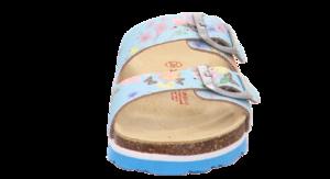 Superfit dívčí ortopedické pantofle modré - 2