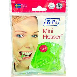 Tepe Mini Flosser - mečíky s nití 36ks - 2