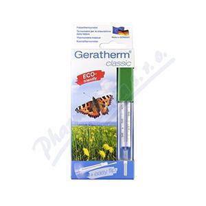 Bezrtuťový skleněný teploměr Geratherm - 2