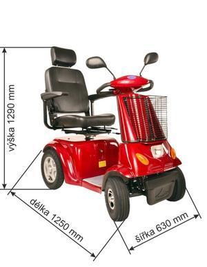 SELVO Elektrický invalidní vozík SELVO 4800 - 3