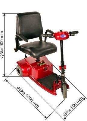 SELVO Elektrický invalidní vozík SELVO 3200 - 3