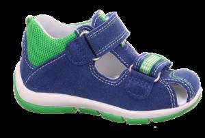 Superfit 6-00140-80 sandálky modré/zelené - 3