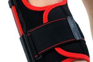 Ortéza kolene s listovými dlahami a zadním otevíráním  IB-SK/A REH4MAT - 3