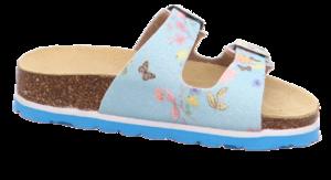 Superfit dívčí ortopedické pantofle modré - 3