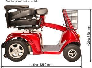 SELVO Elektrický invalidní vozík SELVO 4800 - 4