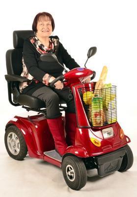 SELVO Elektrický invalidní vozík SELVO 4800 - 5