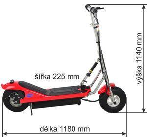 SELVO Elektrická koloběžka SELVO 2300 - 5