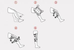 Ortéza kolenní čtyřbodová RAPTOR 2RA REH4MAT - 5