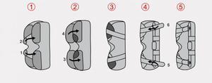 Ortéza kolenní s dvouosým kloubem ATTACK 2RA - 6