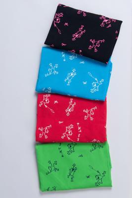 Bavlněný šátek R-JET - 6