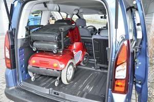 SELVO Elektrický invalidní vozík SELVO 4800 - 7