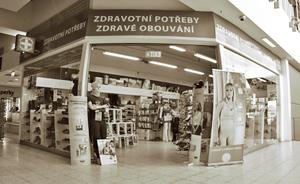 Prodejna v OC Globus Zličín