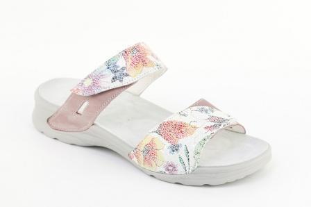 0c827c17168b Zdravotní dámská relaxační obuv na suchý zip - elegantní
