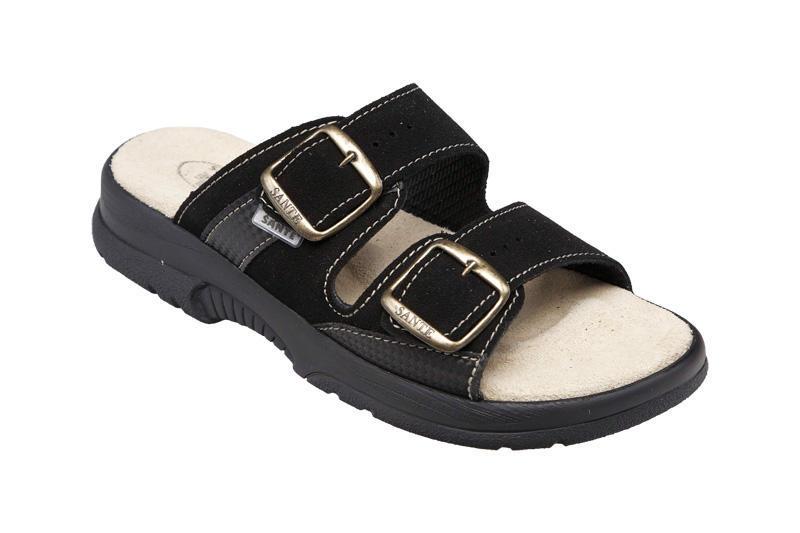 Santé pantofle N 517 33 Černá - Dvort e5f68c523c